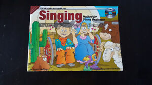 Progressive Singing Method for Young Beginners Books - NEW