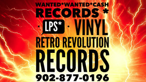 ☆ RETRO REVOLUTION RECORDS ☆ BUYING RECORDS ☆ LPS ☆ Wanted