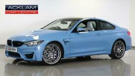 image for 2018 BMW 4 Series 2018 68 BMW M4 3.0 Competition  Petrol blue Semi Auto