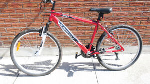 Red  Supercycle bike XC 2.6