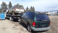 Cash paid for scrap cars , 604 866 2680