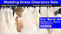Pop Up Wedding Dress Sale