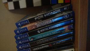 PS4 Slim Bundle - 7 Top Titles - $400