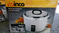 Winco 60 cup Rice Cooker (can deliver)