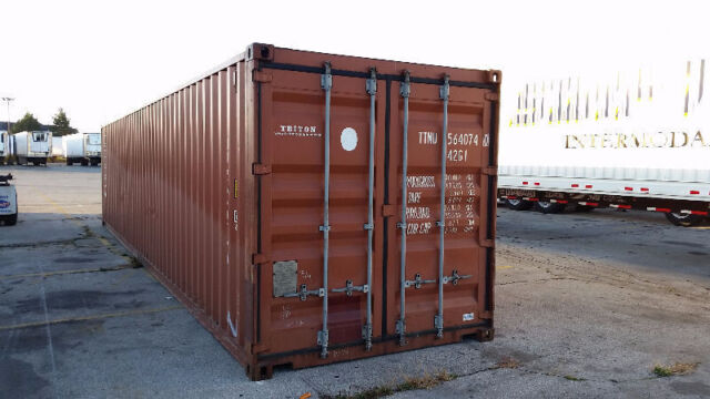 20' & 40' USED Storage Containers for sale **Grande ...