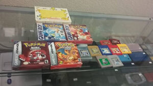 Pokemon Game Boy games for sale (Chad's Game Room)