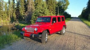 016 Jeep Wrangler Sahara Unlimited Have Carfax Low 50000 Kms