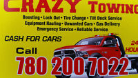 crazy towing.     7802007022