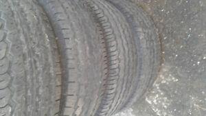4 pneus B.F.Goodrich 265-65-17