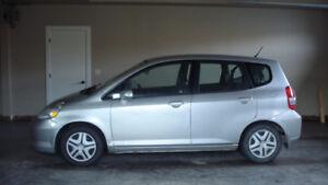 2007 Honda Fit LX w/Cruise Control Hatchback