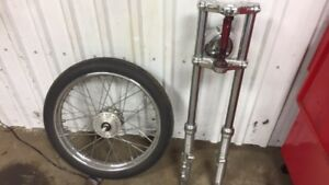 Fourche 39mm 6'' over narrow glide (Sportster)