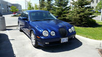 Reduced price 2002 Jaguar S-TYPE Sedan- Blue with black interior