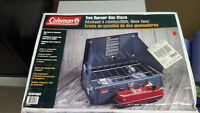 new coleman 425 two burner gas stove
