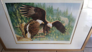 Beautiful Eagle Print Signed & Numbered