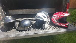 Helmets, Jackets and gloves for sale