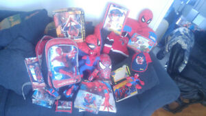 Lot d'items Spiderman Spider-man a petits prix