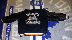 Toddler Harley Davidson reversible jacket