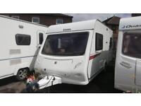 ELLDIS EXPLORE 452 2 BERTH SINGLE AXLE USED TOURING CARAVAN £5995
