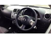 2015 Nissan Micra 1.2 Visia 5dr Manual Petrol Hatchback