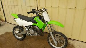 2005 KX 65 Kawasaki dirt bike