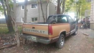 1988 Chevy half ton