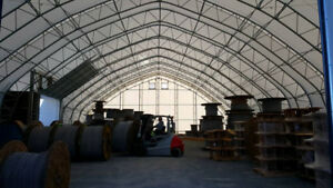 Fabric Buildings for Storage