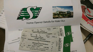 Home opener rider bus package