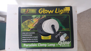 Exo Terra small glow light with clamp