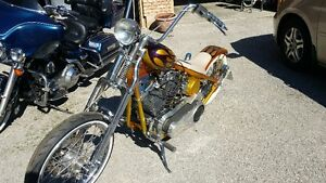 Harley rigid chopper
