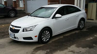 2011 Chevrolet Cruze LT Sedan with winter rims and tires