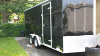 2013 continental utility trailer 18ft