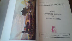 1941 Book: From Covered Wagon to Streamliner Kitchener / Waterloo Kitchener Area image 3