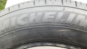 Set of Michelin tyres (4) for sale