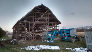 Barn Removal / Demolition *CASH PAID FOR OLD BARNS*