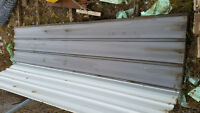 37 sheets of 3x14 siding for sale