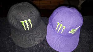 2 Youth Size Monster Hats