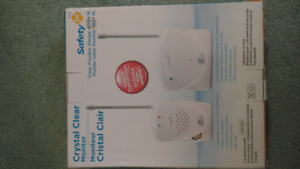 Baby monitor, perfect condition,Safety 1st