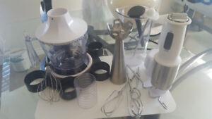 Wolfgang Puck Kitchen Center + Immersion Blender