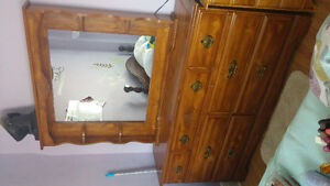 Solid Wood Bedroom Vanity/Dresser REDUCED PRICE