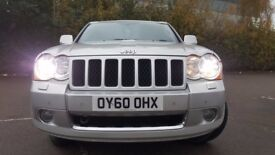 Jeep Grand Cherokee 3.0 2010 y.S LIMITED CRD 215HP +6 MONTHS WARRANTY