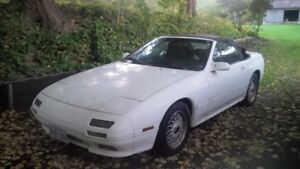 1990 Mazda RX7 Convertible 5 speed 197km $2000