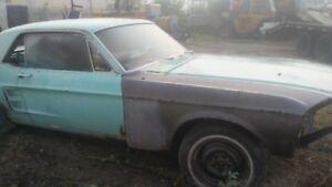 Classic 67 Mustang Coupe 2/Door