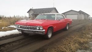 For sale. 1965 Impala SS convertable