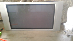 "Legend 42"" flat plasma with speakers"