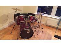 Mapex Horizon 8 piece Drum Kit and Pedstal