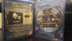 God of War PS4 - Mint Condition! $80 OBO