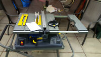 "Brand New Mastercraft Maximum 10"" Table saw/Scie D'etablie"