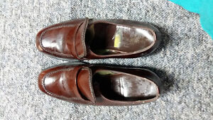 for sale brown  leather steel safety warehouse shoes great