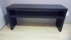 Ikea Brown Black Console Table