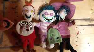 Nightmare Before Christmas plush dolls